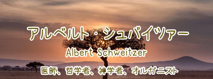 アルベルト・シュバイツァーの名言 - 地球の名言